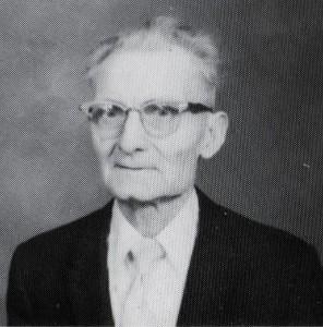Oscar J. Scaer, c1981.