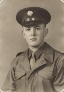 Herb Miller, U.S. Army veteran, WWII.