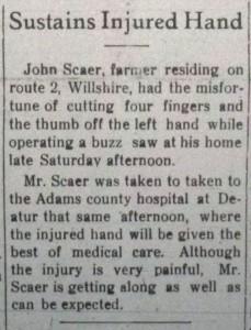 The Willshire Herals, 12 February 1925, p.1.