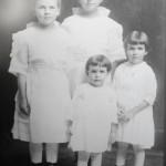 Emma, Marie, Kate, and Velma Schumm.
