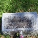 Gertrude (Heffner) Roehm, Zion Lutheran Cemetery, Schumm, Van Wert County, Ohio. (2012 photo by Karen)