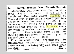 """Oregonian,"" Portland, Oregon, 7 February 1918."