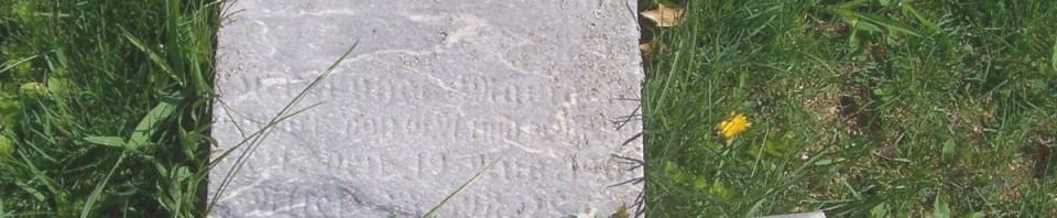 Maria Friedricke Roehm, Zion Lutheran Cemetery, Schumm, Van Wert County, Ohio. (2012 photo by Karen)