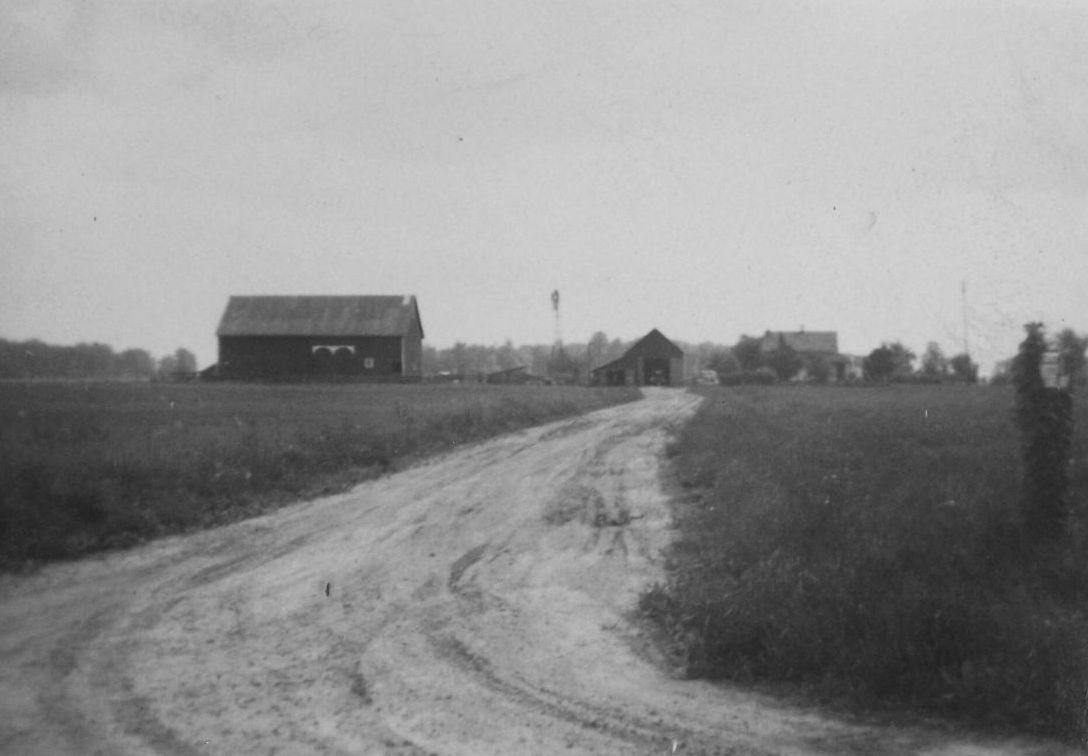 Ohio mercer county rockford - Windmill On Miller Farm Mercer County Ohio Unknown Date