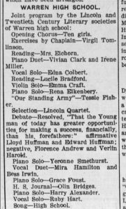 Daily News-Democrat, Huntington, Indiana, 23 Dec 1908.