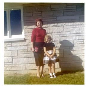 Florence & Karen, c1959.