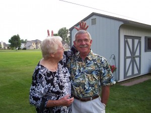 Aunt Kate & Joe, 2008 Miller reunion.