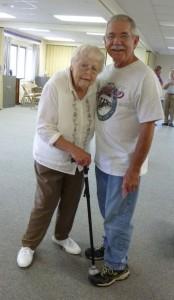 Aunt Kate & Joe, 2014 Miller reunion.