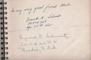 Frank G. Schwab & Raymond G. Schwartz