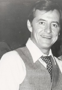Actor Henry Darrow, filming of Attica, Lima, Ohio, 1979.
