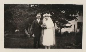 Mr. & Mrs. Herman Schumm, 1922.