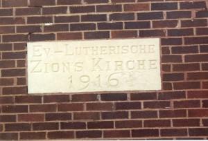 Zion Chatt's cornerstone.