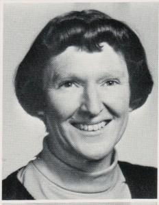 Juanita Cress, algebra & geometry teacher at Parkway High School in the 1960s.