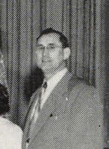 Buress McBride, Coldwater Elementary School, 1950.