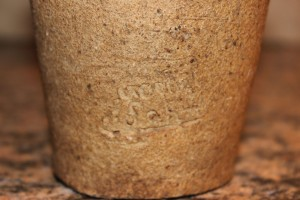 Salt glazed nesting cups.
