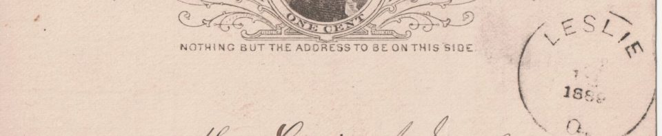 1889 Farmers Mutual Aid Association of Van Wert County assessment for Louis J Schumm