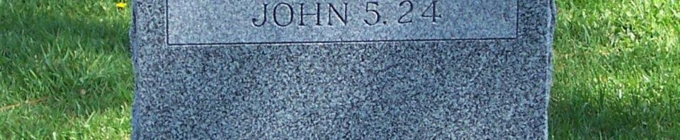 Elisabeth Krieb, Zion Lutheran Cemetery, Van Wert County, Ohio. (2012 photo by Karen)